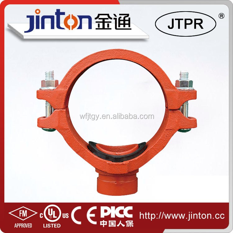 Fire protection fm mechanical tee