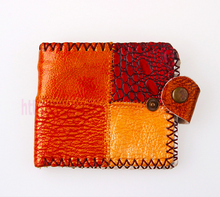 leather coin purse small wallet men