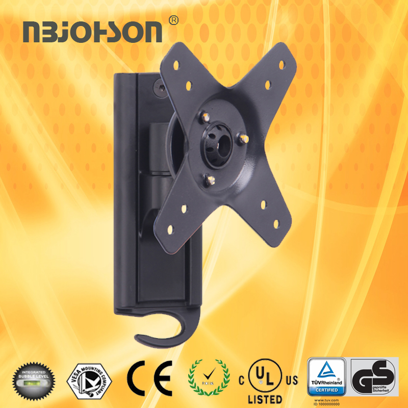 High Quality Aluminum Wall Plate Tilt LED LCD TV Brackets (LB-G800A)