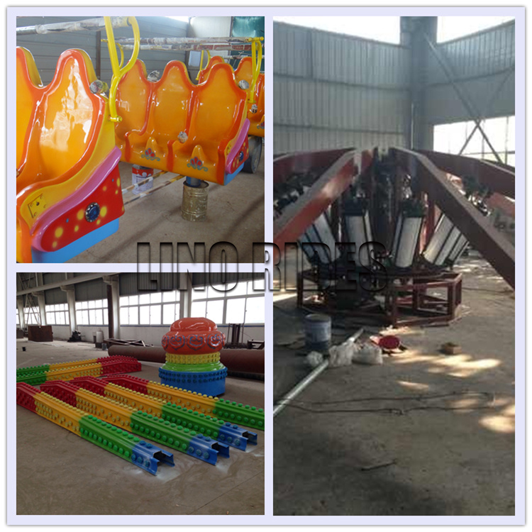 Theme Park Jumps Machine Amusement Rides and Rotating Bungee