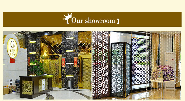 Metal Sheet Stainless Steel Decorative 3D Fire Resistant Wall Covering