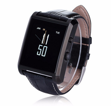 Fashion Touch screen Bluetooth smart watch, stainless steel smart watch mobile phone