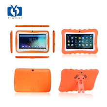 Best 7 inch A33 512G 8G tablets android 4.4 kid tablet pc with foreign kids games