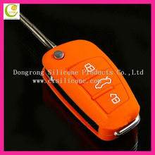 Factory wholesale selling different various stylish silicone rubber remote car key modified key shell for ford/buick/toyoda/kia