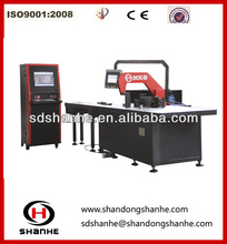 cnc hydraulic copper busbar punching cutting bending machine