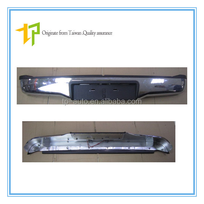 Well-made 52159-0K010 Rear Bumper for Toyota Hilux Vigo Pickup 2006 up /Hot sale Thick Bumper