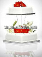clear Acrylic Cupcake Stands cake display shlf