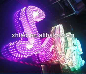 12mm 20mm 30mm color change led pixel dmx light