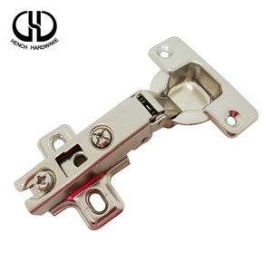 China supplier quality nickel iron slow closing torque full-overlay kitchen cabinet hinge