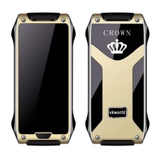 Vkworld Crown V8 Cell Phone 1.63 Inch 320x320 OLED 32MB RAM 32MB ROM 780mAh virtual keyboard Functional Mobile Phone