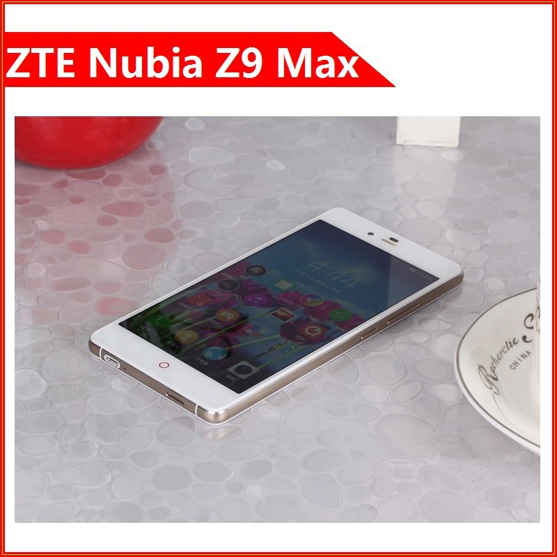 "Original ZTE Nubia Z9 Max 4G FDD LTE Smart Phone Snapdragon 810 Octa Core CPU 5.5"" FHD Screen RAM 3G ROM 16G Android 5.0"