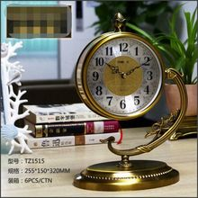 2018 Quartz Clock Luxury Metal Table Clock