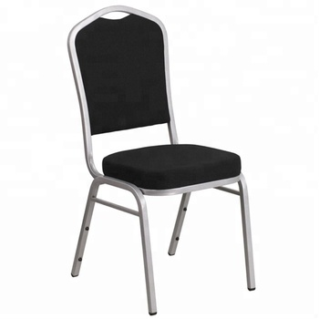 Stacking Black Banquet Chair For Hotel Cheap Dining Chairs for Wholesale Modern Concert Hall Dining Chair