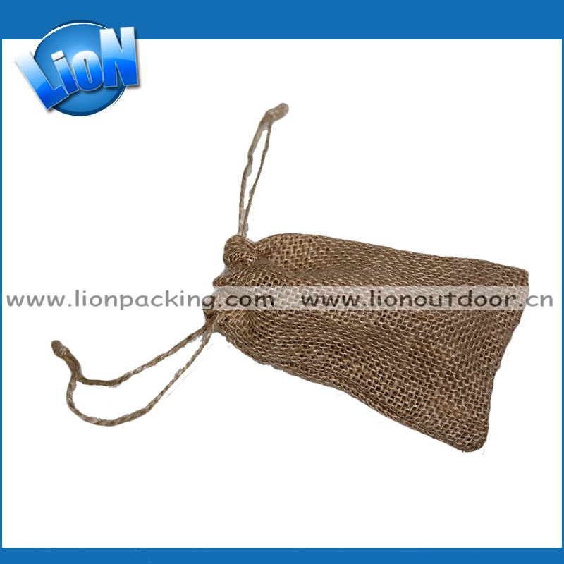 high quality shopping bag burlap jewelry pouch jute bag wholesale jute bag