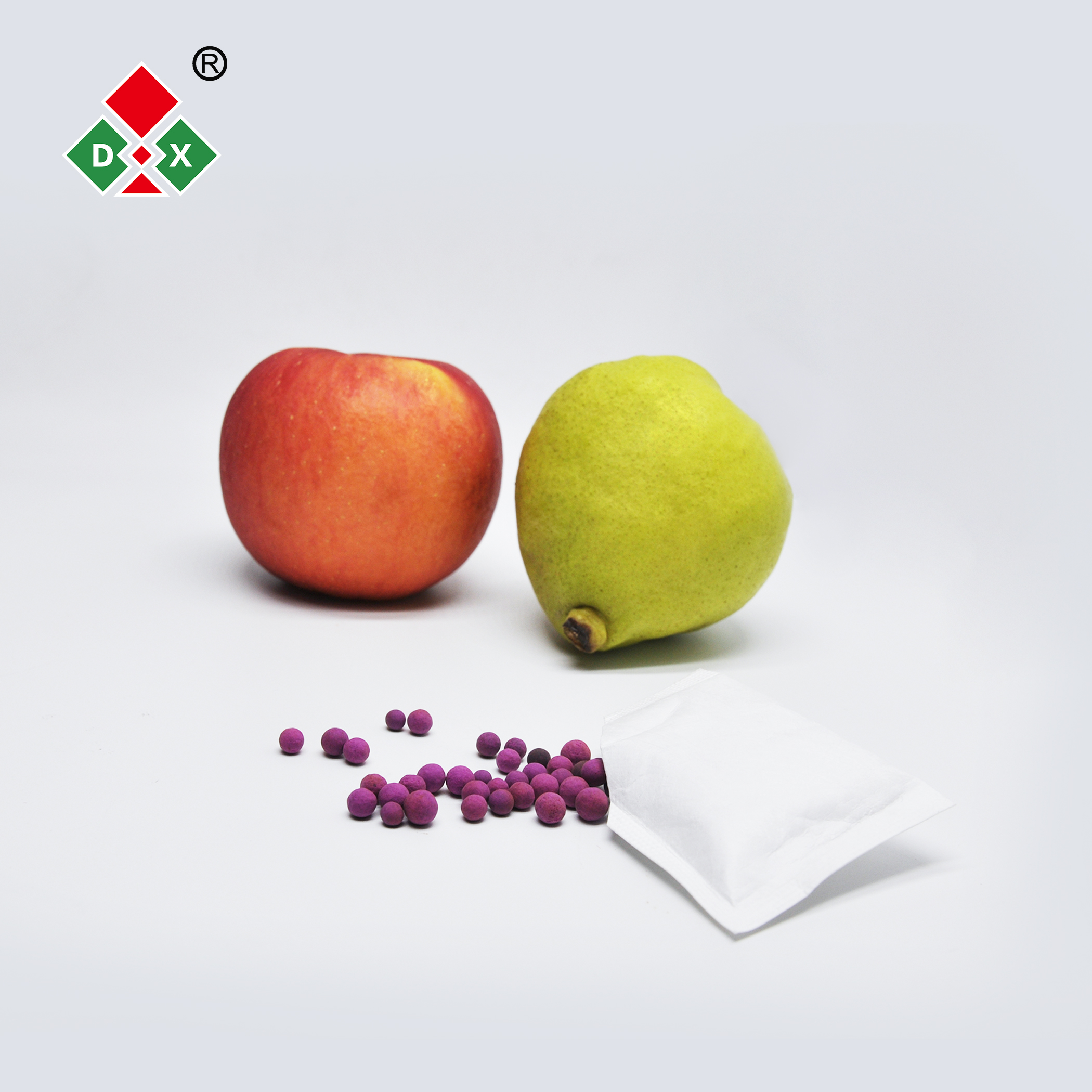 Ethylene absorbers to extend fruits, vegetables and flowers conservation