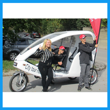 Zero Pollution Three Wheel Electric Motor Bike Taxi Tricycle