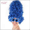 fake synthetic Deluxe marge simpson dark blue cosplay wig