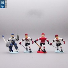 4inch pvc hockey player figurine for giveaway