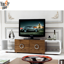 HEYA living room furniture lcd tv table wall units with showcase
