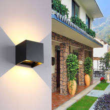 Adjustable Outdoor Led Wall Light Fancy Art Wall Mounted Lamp Modern Decorative Lighting Outdoor Wall Lights For Home Garden