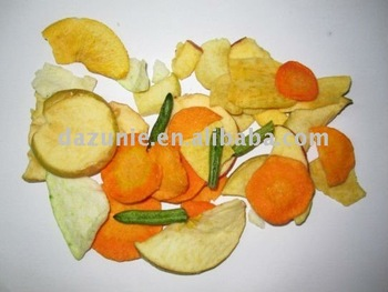 Vacuum Fried Fruits and Vegetables Chips