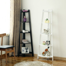 Decorative Home Furniture Modern Wood Corner Shelf