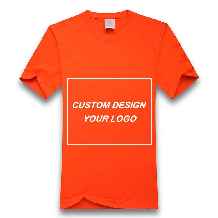 Design Your Own Fashion Crew Neck Private Label Cotton T