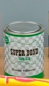 Heavy duty shoe bonding adhesive - Super Bond SR 5X FW