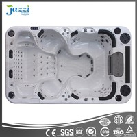 Jazzi Hot sale CE approved free sex USA spa bathtubs with 42'TV and DVD in spa bathtubs SKT339F