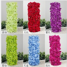 Wholesale hot sale artificial flower wall flower mat wedding decoration