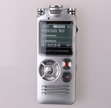 High quality 8gb digital voice recorder wireless usb microphone voice recorder with timer