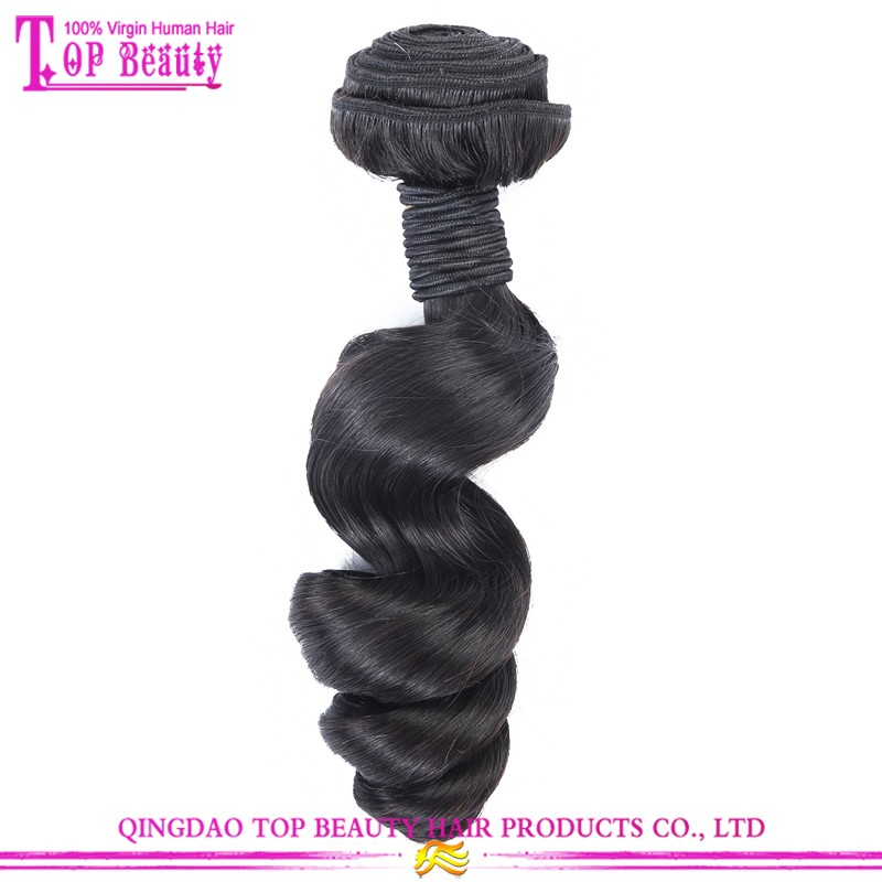 100% Unprocessed Full Cuticle Tangle Free Loose Wave 7a Grade Virgin Brazilian Loose Wave Hair