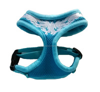 Mesh soft puppies traction dog soft harness