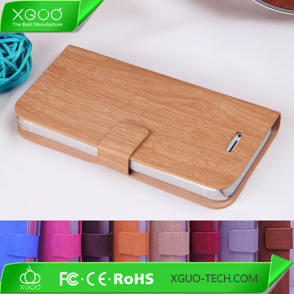 thin folio book style for iphone 5C stand leather case