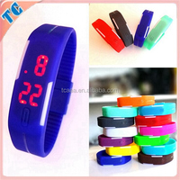 NEW Fashion LED sport wrist bracelet Hot sale silicone rubber digital watch
