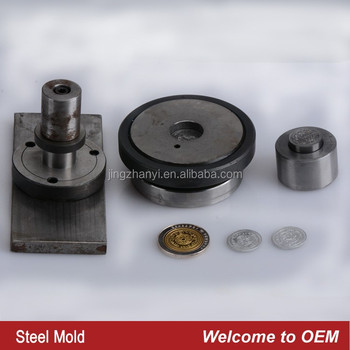 top quality hydraumatic steel coin mould,commemorative coin professional mould factory-OEM,mould