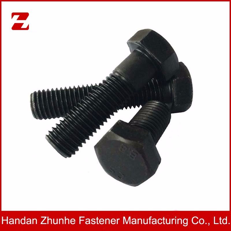 Grade 8.8 high tensile hex bolt and nut factory price