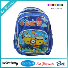 Guangzhou factory kids cartoon picture of ergonomic boy school bag