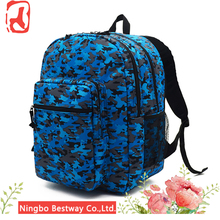 Waterproof Green Colorful 30-40L Polyester Hiking Backpack for Sale