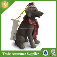 Polyresin Dog Personalized Christmas Ornaments Wholesale