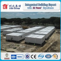 For 2022 world cup fireproof rock wool Sandwich Panel Expandable Prefabricated Container House