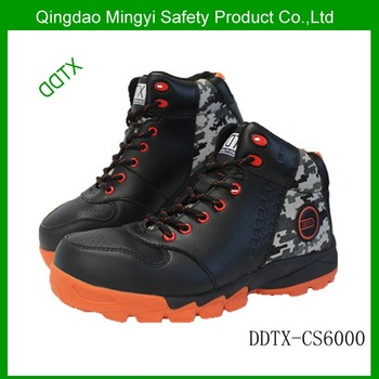 New style composite toecap microfiber leather safety shoes