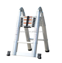 Evacuation durable ladder folding aluminum stairs with carefully selected materials