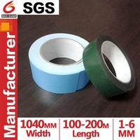 1mm-6mm Thickness Red/Green Film Double sides EVA foam Tape