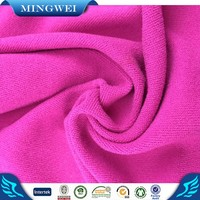 100 polyester warp knit 100 polyester Tricot Satin Fabric for Dancewear / Carnival wear