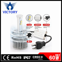 Newest Car Accessories X7 led headlight 12v, wholesales price led headlight bulb h4 h7 H1 H3 Hb4 H8 H9