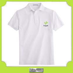 Custom men's polo shirt printing your own brand names company name
