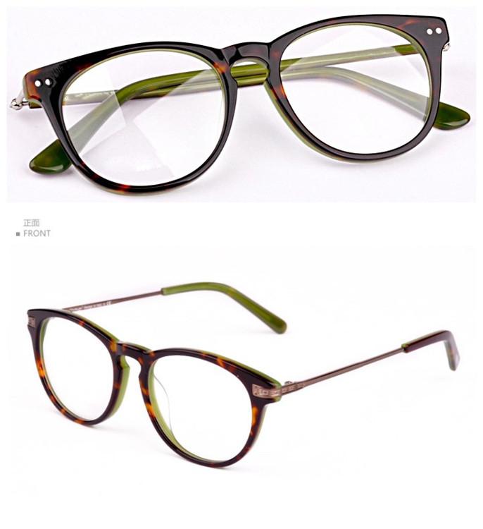 Italy Designer Acetate Eyeglasses Frame/cheap Eyeglasses ...