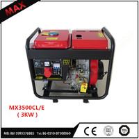 3000Watt Power Diesel Generator And Home Use Diesel Generator Price