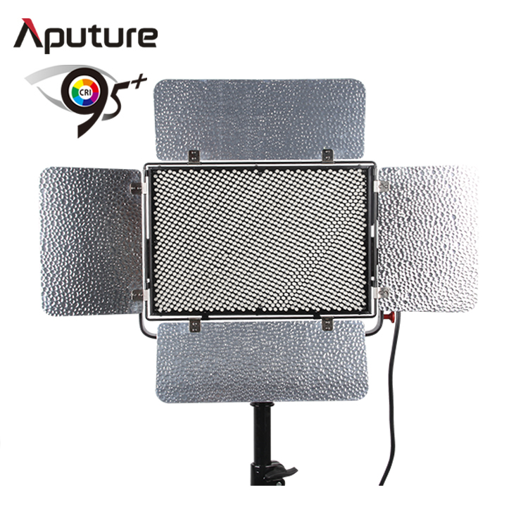 Aputure Fliker Free led studio panel light photography broadcast video shooting 1536 leds daylight slim type led video light